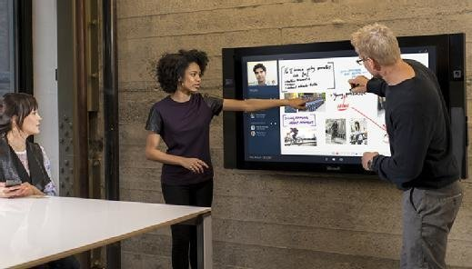 Microsoft Surface Hub collaboration device