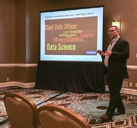 Richard Wendell at the Chief Data Officer Summit in New York