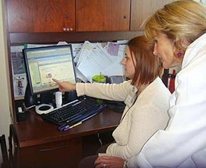 Wheaton Franciscan Healthcare clinicians scan patient data into an EHR.