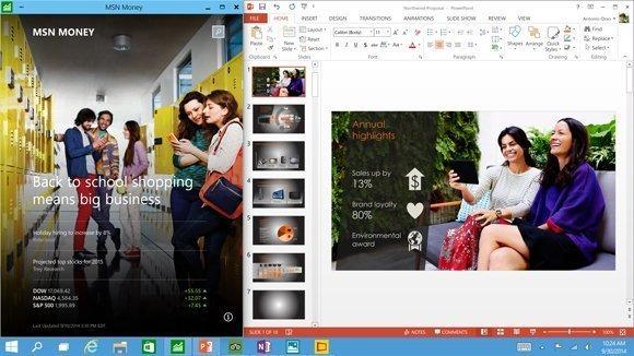 Fenstermodus f�r Apps in Windows 10