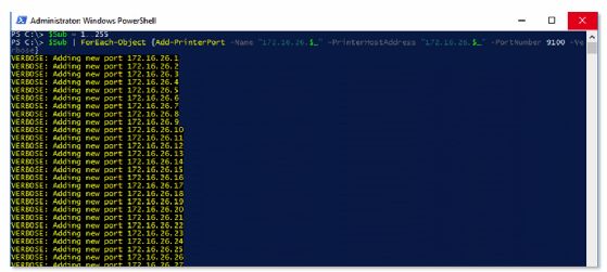 Use PowerShell printer management for quicker setups