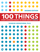 Book cover for 100 Things Every Designer Needs to Know About People, 2nd Edition
