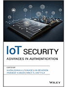 IoT Security: Advances in Authentication book cover