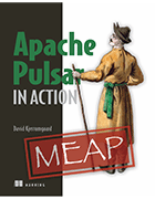 'Apache Pulsar in Action' book cover