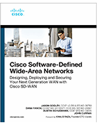 Cisco SD-WAN book cover
