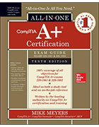 CompTIA A+ Certification All-in-One Exam Guide, Tenth Edition book cover