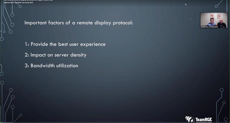 Remote Display Protocol GO365 Screenshot