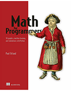 'Math for Programmers' book cover