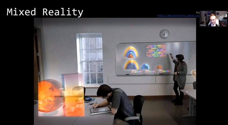 Mixed reality TeamRGE webinar screenshot