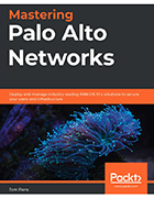 'Mastering Palo Alto Networks' book cover