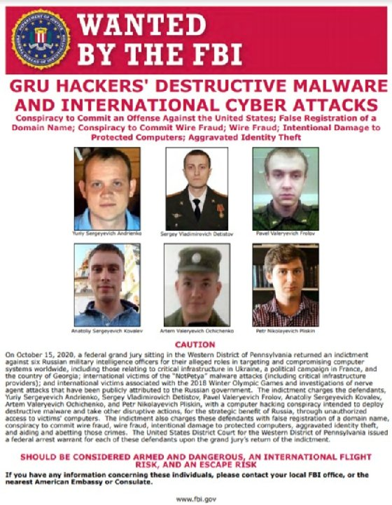 Russian nation-state hackers, NotPetya