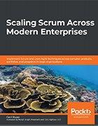 Scaling Scrum Across Modern Enterprises book cover.