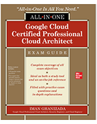 book cover 'Google Cloud Certified Professional Cloud Architect Exam Guide'