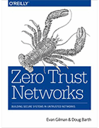 'Zero Trust Networks' book cover image