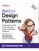 Head First Design Patterns, second edition book cover