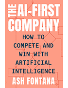 Book cover for 'The AI-First Company'