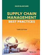 Book cover of 'Supply Chain Management Best Practices' by David Blanchard