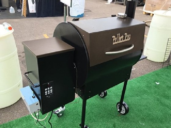 A cloud-connected, Wi-Fi-controlled BBQ