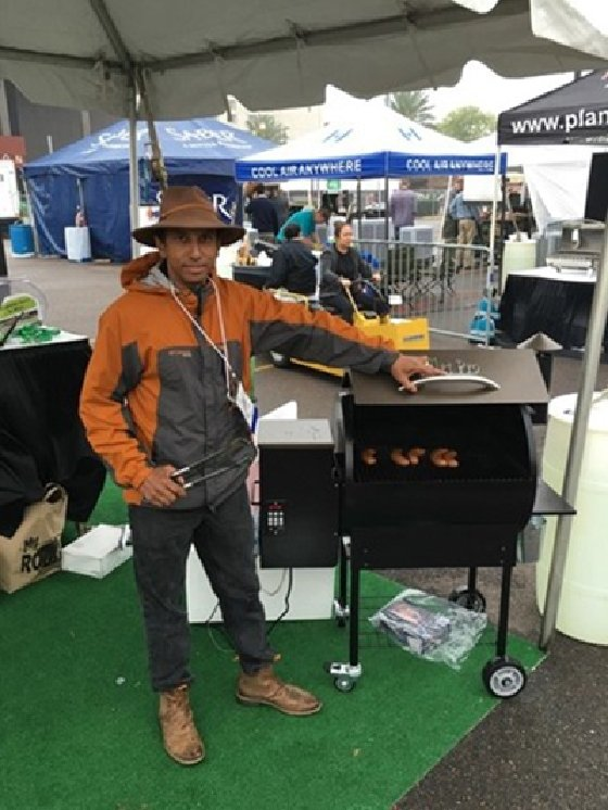 Wright and the cloud-connected, Wi-Fi-controlled BBQ