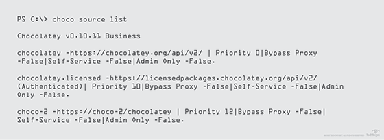 Tap the Chocolatey package manager to usher in Windows DevOps