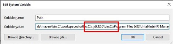 How to install the JDK on Windows and set up JAVA_HOME
