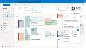 The Microsoft Outlook RSVP scheduling tool