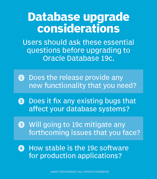 Oracle 19c database software promises stability, compatibility