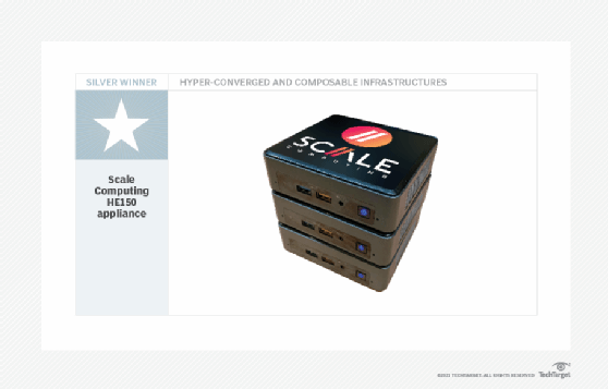 Scale Computing HE150 appliance