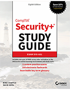 CompTIA Security+ Study Guide Exam SY0-601 cover image