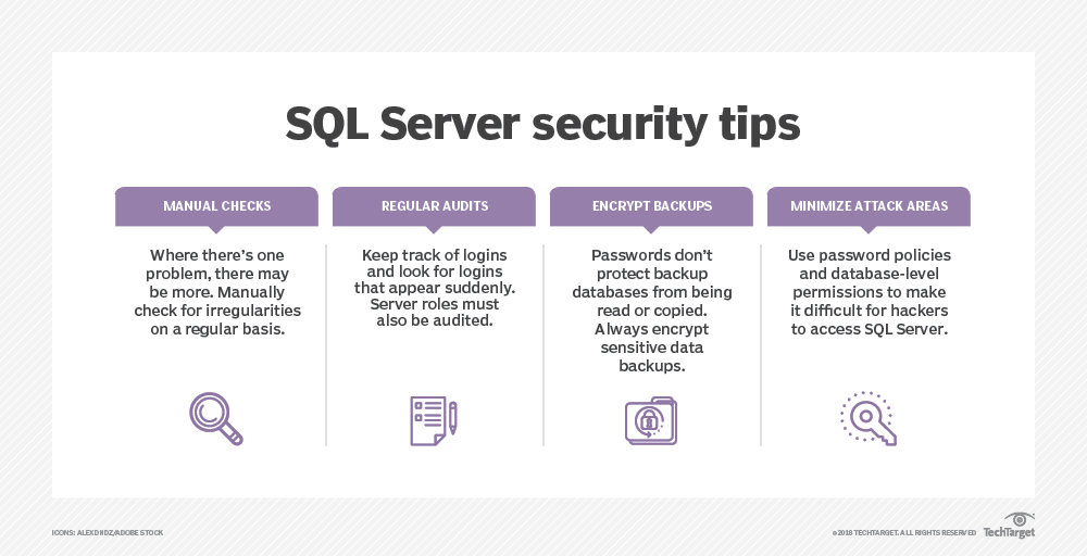 Implement SQL Server security best practices in 4 easy steps