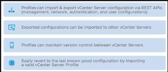 Perfiles de vCenter Server