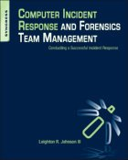 Computer Incident Response and Forensics Team Management cover