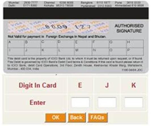 ICICI grid based security