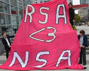 2014 RSA Conference protest