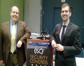From left: Dan Fitzgerald and Nikita Reva, PricewaterhouseCoopers LLP