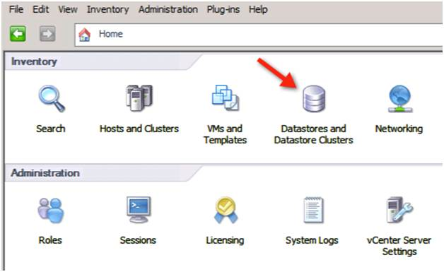 Datastores and Datastore Cluster Inventory