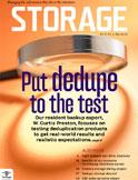 Storage magazine cover May 2009