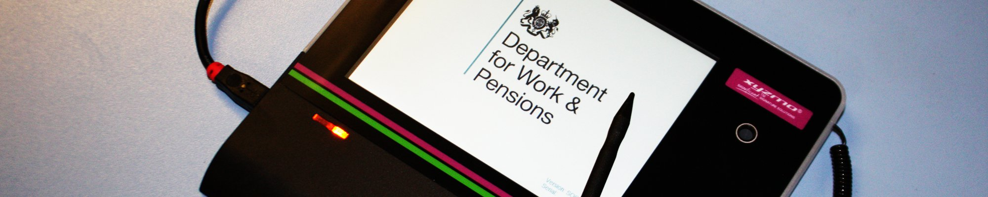 Department for Work and Pensions claims payments progress
