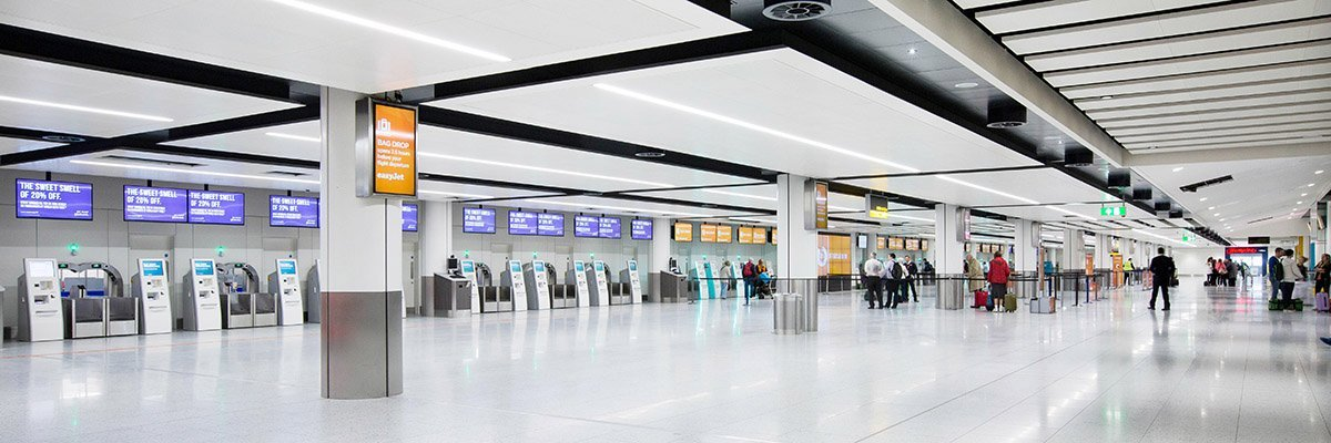 5G takes off at Gatwick Airport