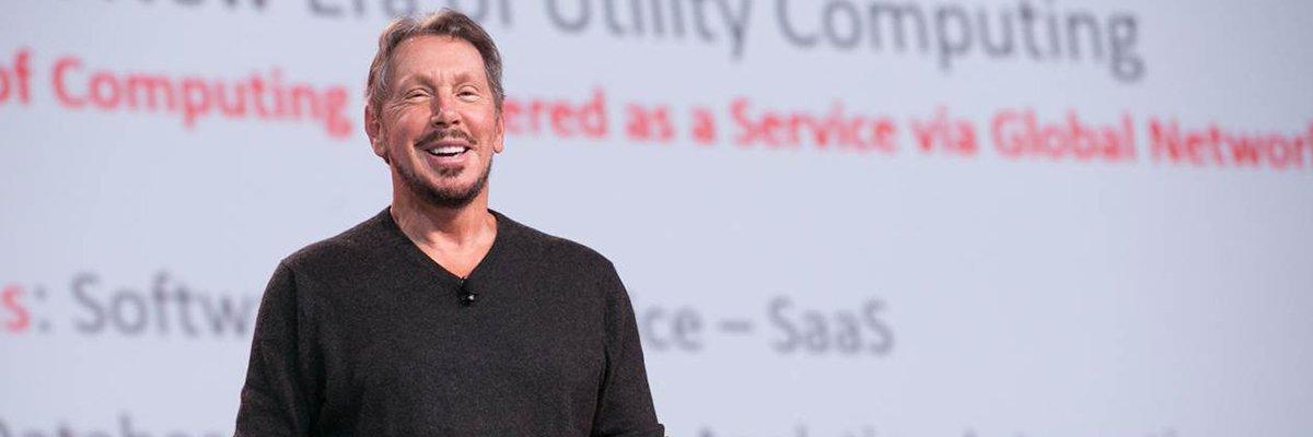 Oracle Openworld 2015 Larry Ellison Vaunts Oracle S Cloud