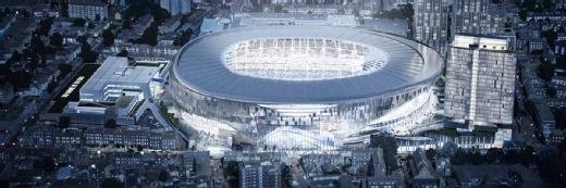 new styles 4799c a057d HP Inc to kit out new Spurs stadium
