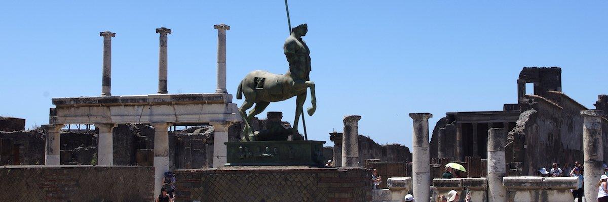 Le site archéologique de Pompéi passe sous l'empire de l'IoT