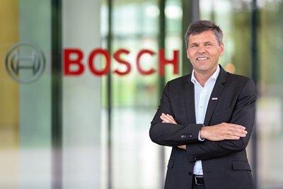 Photo de Michael Bolle, CTO et Chief Digital Officer, Bosch