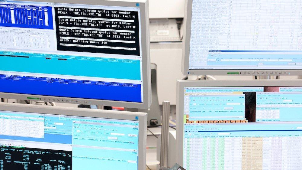 XETRA, le système électronique d'échange et de négociation de titres financiers géré par Deutsche Börse