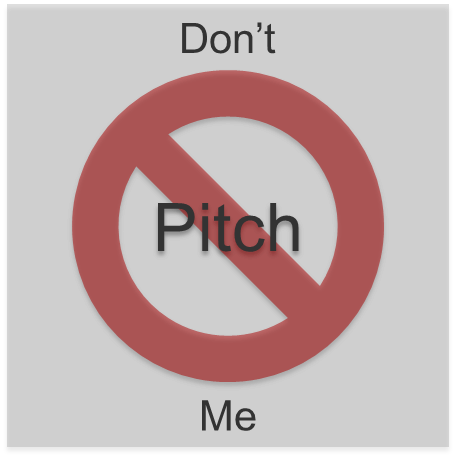 social selling, not pitching