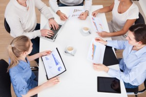 sales and marketing communication - collaboration