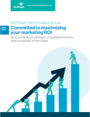 Client Consulting: Committed to maximizing your Marketing ROI