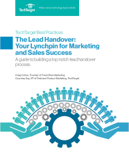 The Lead Handover: Your Lynchpin for Marketing and Sales Success