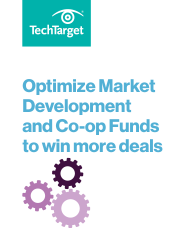 VARs: Optimize Market Development and Co-op Funds to win more deals