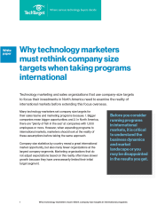 Re-thinking International company size filters